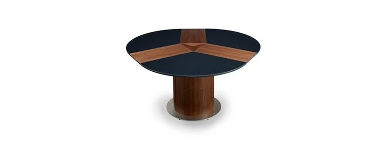 Esstisch rund ausziehbar schwarz  Skandinavische Wohnkultur S.Beyer GmbH - Kiefermöbel - Runde Esstische