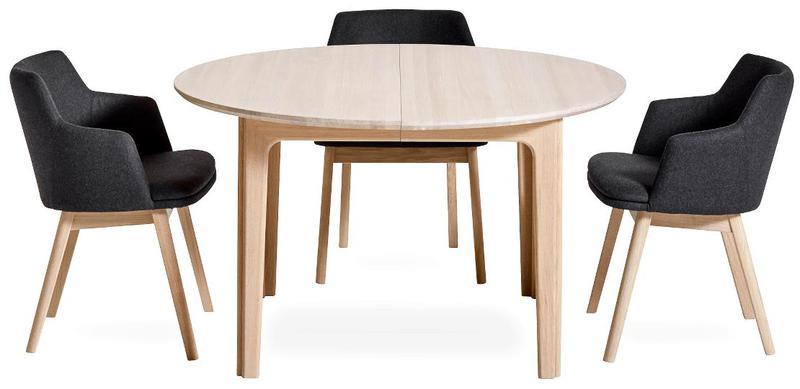 skandinavische wohnkultur s beyer gmbh runde esstische. Black Bedroom Furniture Sets. Home Design Ideas