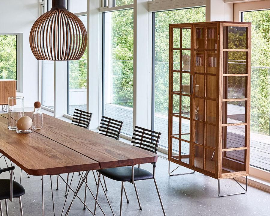 Skandinavische wohnkultur s beyer gmbh vitrinen for Vitrine skandinavisch