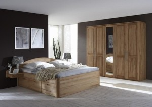 Schlafzimmermöbel, Bett, Holz, Skandinavische Wohnkultur, Hannover