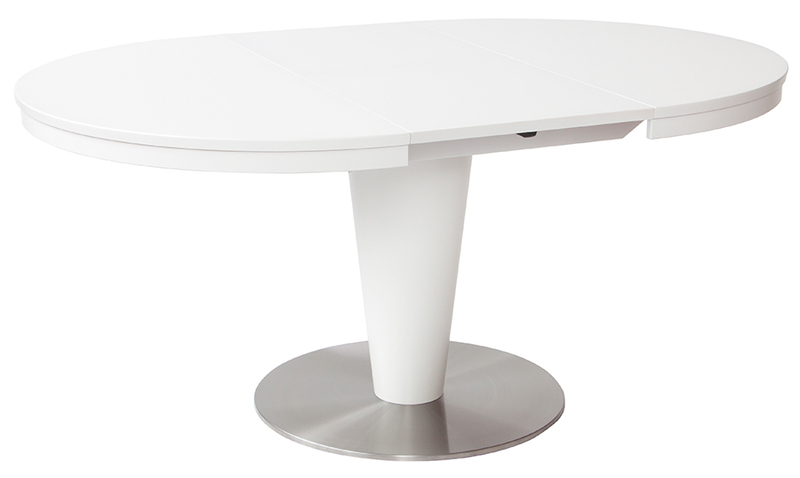 Ein Großer Runder Familientisch Für Die Moderne ...